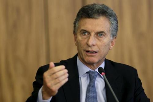 tong thong argentina mauricio macri. anh:reuters.