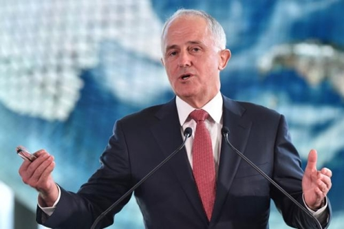 thu tuong australia malcolm turnbull. anh:reuters.