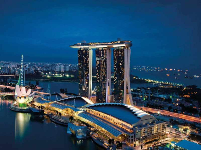 marina bay sands tai singapore