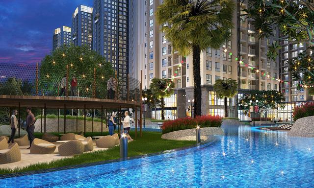 Bất động sản quận 2 thu hút các dự án 'khủng'