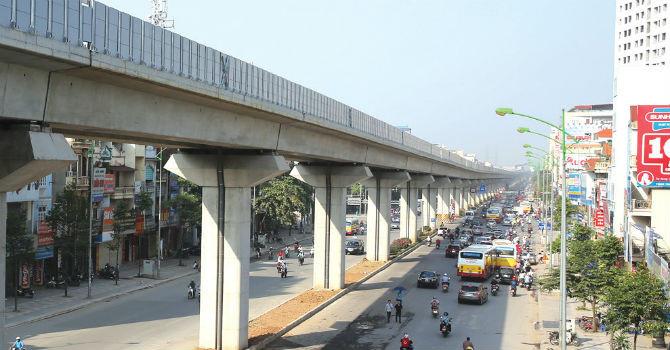 Hà Nội muốn đổi 6.000 ha đất làm 10 dự án đường sắt đô thị 40 tỷ USD