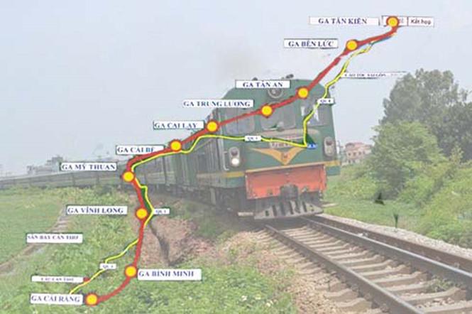 Đường sắt 'tỉ đô' TP.HCM - Cần Thơ
