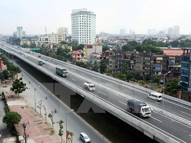 cac phuong tien luu thong duong vanh dai 3 tren cao.