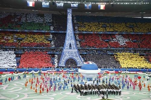 le khai mac euro 2016 tai san van dong stade de france. anh:reuters