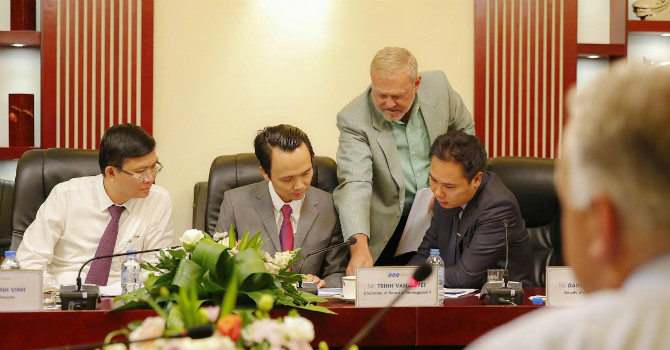 FLC đang đàm phán với Boeing để mua 15 máy bay cho hãng hàng không Bamboo Airways