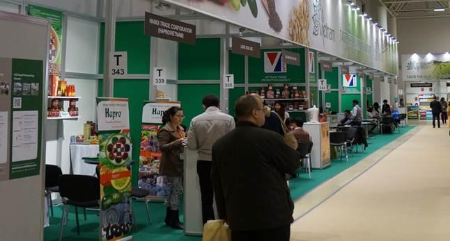 Việt Nam tham gia triển lãm Quốc tế Thực phẩm Moscow