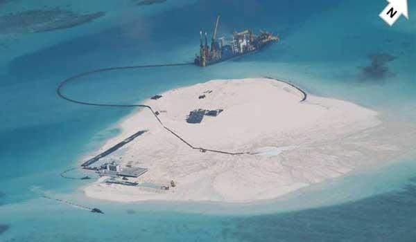 Vị trí các đảo nhân tạo Trung Quốc xây phi pháp ở Trường Sa