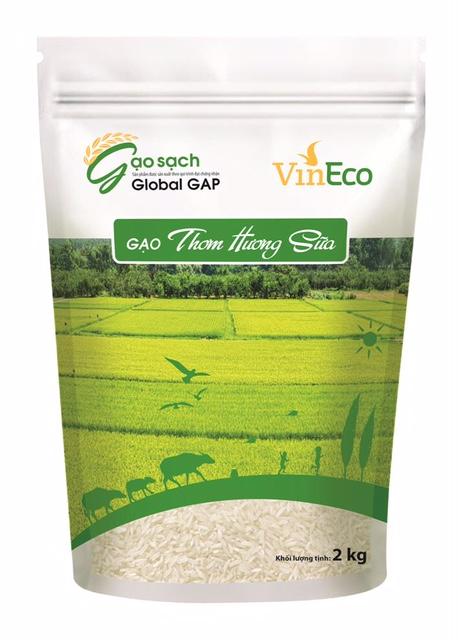 Ra mắt thương hiệu gạo sạch VinEco