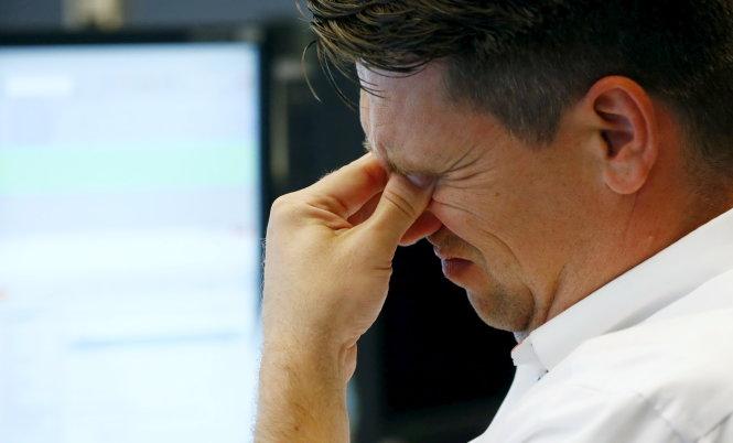 Hơn 1.000 tỷ euro bốc hơi khỏi thị trường chứng khoán châu Âu