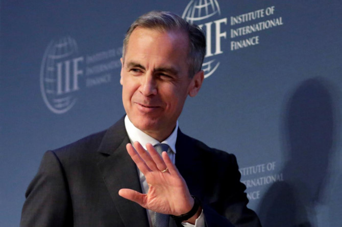mark carney anh: reuters