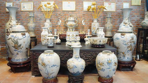 Xuất khẩu sản phẩm gốm sứ chủ yếu sang các nước Đông Nam Á