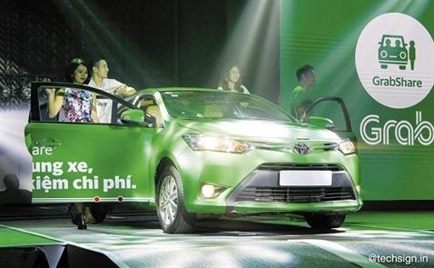 Toyota đầu tư vào Grab, lấn sân mảng kinh doanh dịch vụ gọi xe