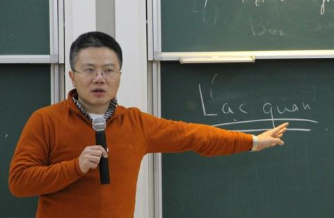 GS.Ngô Bảo Châu: Phong hàm GS ở VN rất trái khoáy