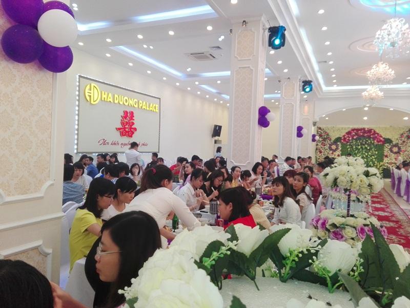 Tổ chức sự kiện - tiệc cưới  tại Hà Dương Palace