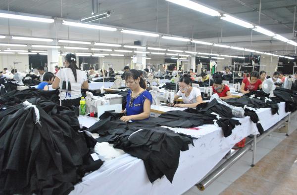 Tăng trưởng xuất khẩu hàng dệt may chủ yếu do sự đóng góp của doanh nghiệp FDI