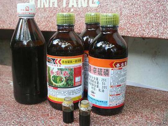 Trung Quốc – thị trường chính cung cấp thuốc trừ sâu và nguyên liệu