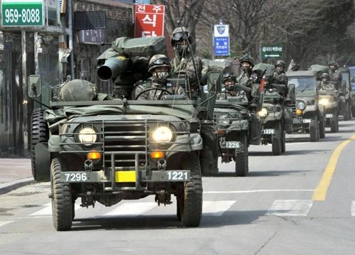 Tương quan lực lượng quân sự Triều Tiên - Hàn Quốc
