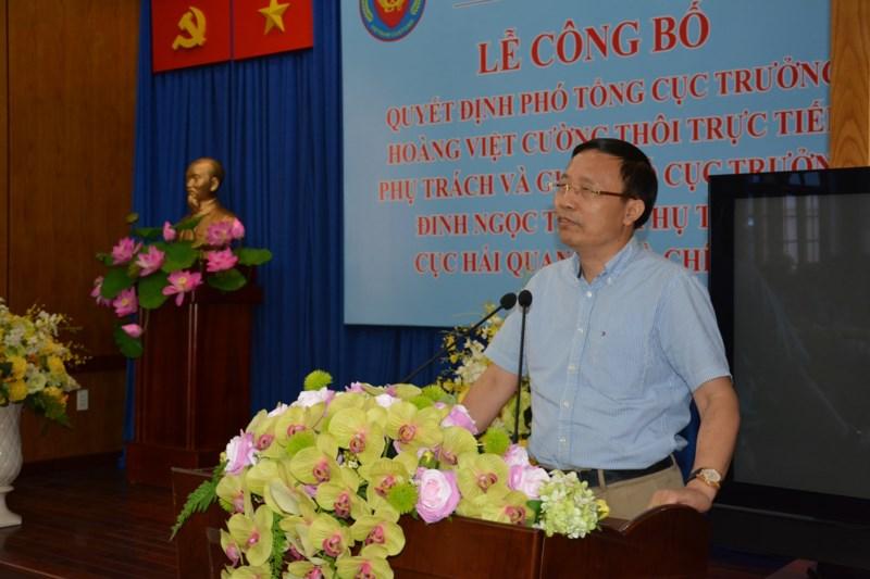 Ông Đinh Ngọc Thắng phụ trách Cục Hải quan TP.HCM - ảnh 2