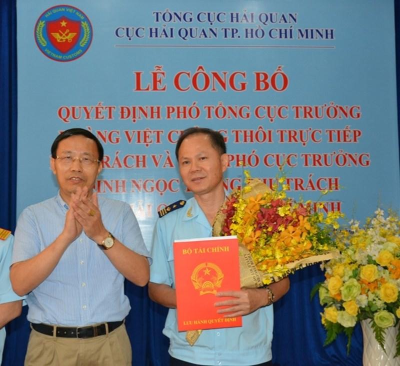 Ông Đinh Ngọc Thắng phụ trách Cục Hải quan TP.HCM - ảnh 3