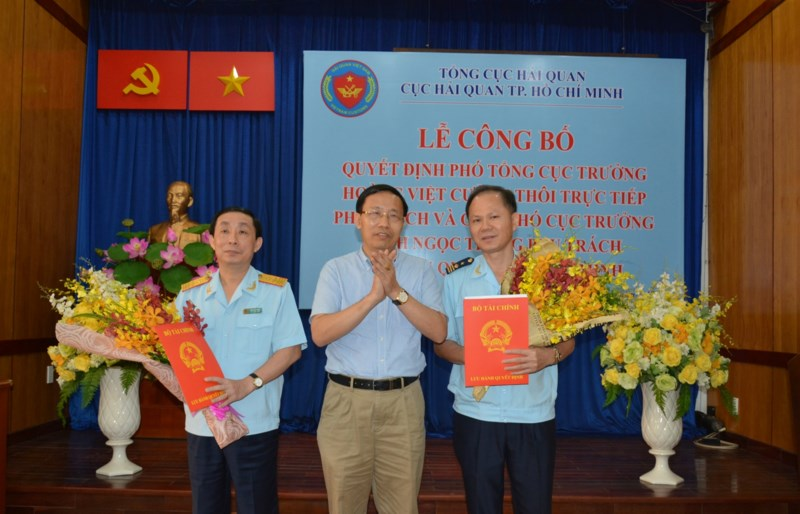 Ông Đinh Ngọc Thắng phụ trách Cục Hải quan TP.HCM - ảnh 1
