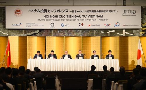 Việt Nam - Nhật Bản ký các hợp đồng trị giá 22 tỷ USD