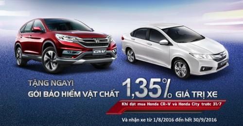 Honda Việt Nam công bố giá mới hấp dẫn cho Honda City từ tháng 7/2016