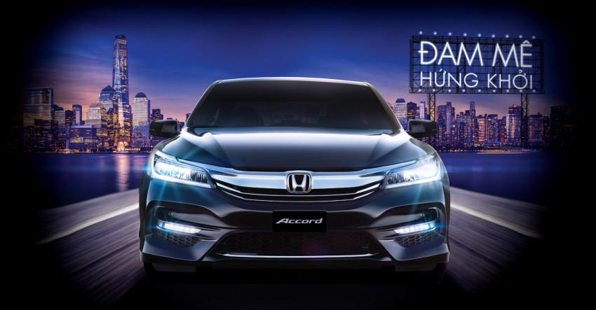 Honda Accord 2016 có gì mới?