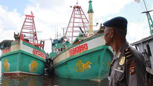 Indonesia bắt 7 tàu cùng 55 ngư dân Việt Nam