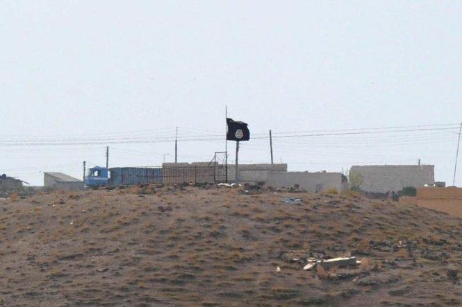 co is o gan thi tran kobani cua syria - anh: getty images