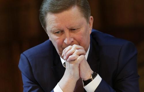 ong sergei ivanov giu chuc chanh van phong dien kremlin trong 4 nam 8 thang truoc khi bi sa thai. anh:tass
