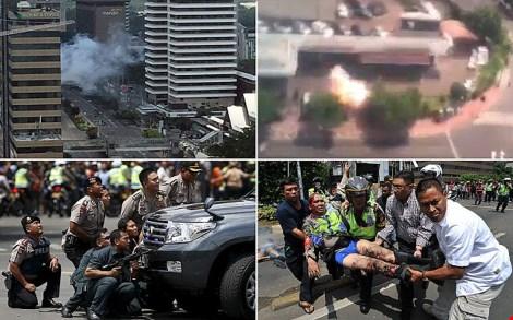 Cuộc vây bắt nhóm khủng bố tại Indonesia đã kết thúc
