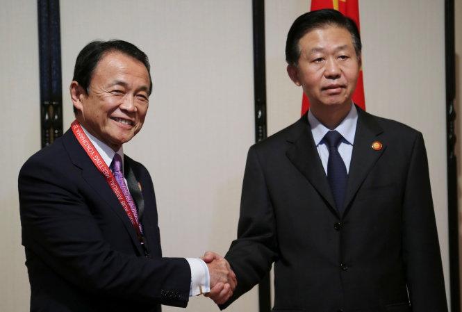 Nhật, Trung gần nhau hơn về kinh tế do ông Trump