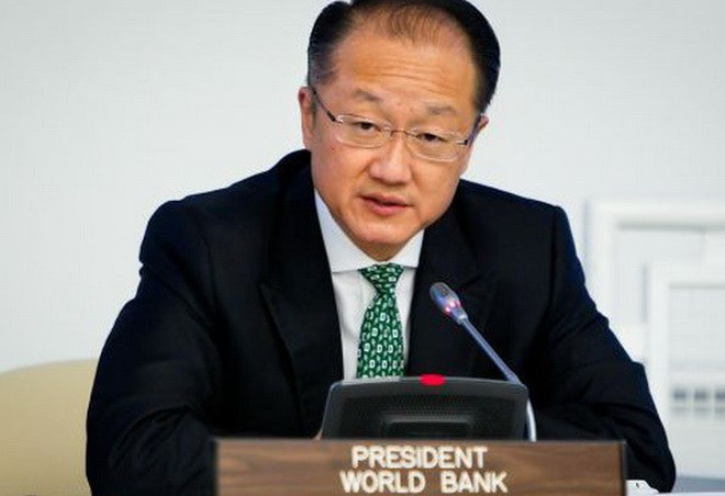 chu tich ngan hang the gioi (wb), ong jim yong kim. (nguon: ap)