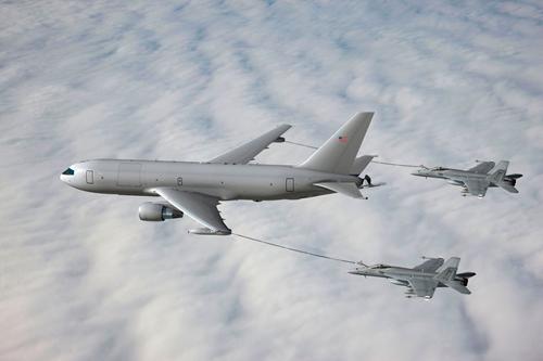 hinh anh mo phong may bay kc-46a. anh:military