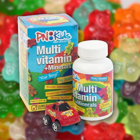 GUMMY (Kẹo dẻo) VITAMIN cho trẻ biếng ăn được nhiều người tin dùng