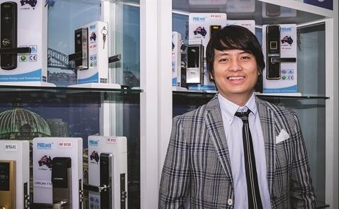 Khóa điện tử mở cơ hội triệu đô