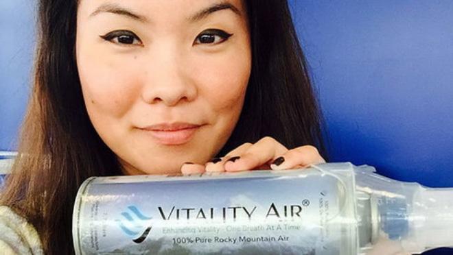 Không khí đóng chai Canada đắt như tôm tươi ở Trung Quốc