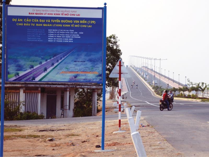 Khu kinh tế Chu Lai: Thêm khát vọng từ tuyến đường Cửa Đại