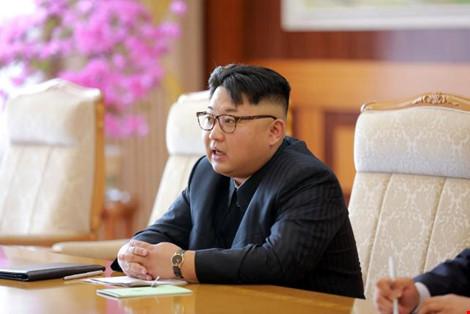 """my dua nha lanh dao kim jong-un vao """"so den"""" nhung nhan vat vi pham nhan quyen tai trieu tien. anh: kcna"""
