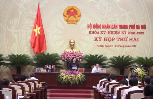 Hà Nội đặt mục tiêu GRDP tăng bình quân 8,5-9% giai đoạn 2016-2020