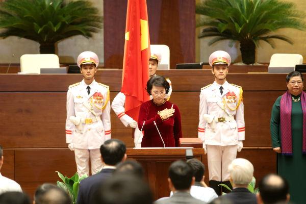 Chính thức ra mắt bộ máy lãnh đạo cao nhất của Quốc hội khóa XIV