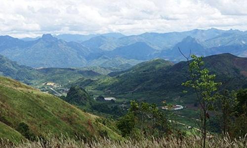 vu danh bom xay ra o tinh xaysomboun, mien trung lao. anh: tourism laos