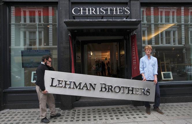 ngan hang lehman brothers tuyen bo pha san trong dot khung hoang tai chinh 2008 - anh: reuters