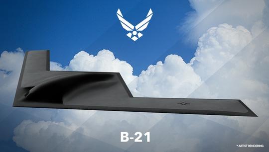 hinh anh may bay b-21. anh: defense news
