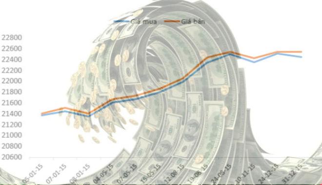 [Infographic] Nhìn lại những đợt sóng tỷ giá năm 2015