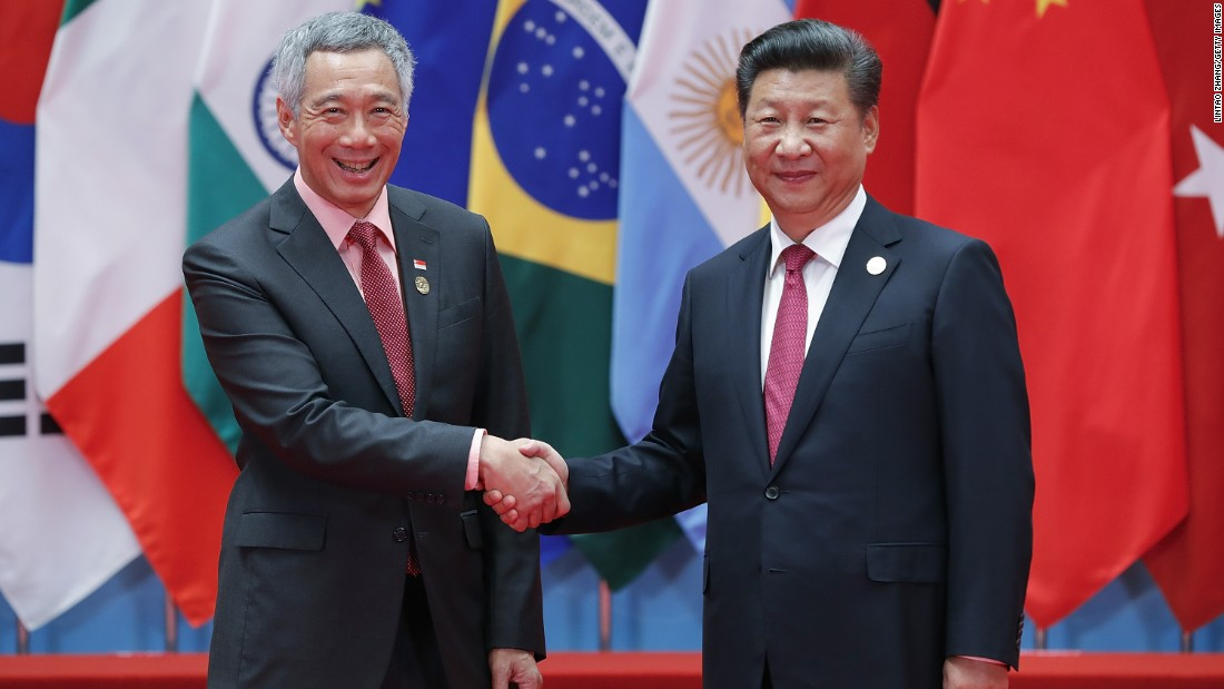 chu tich trung quoc tap can binh (phai) bat tay thu tuong ly trong hoi nghi g20 tai hang chau nam 2016