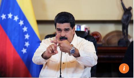 Tổng thống Venezuela Nicolas Maduro. Lệnh cấm nhập cảnh vào Mỹ chủ yếu áp dụng với quan chức chính phủ, không cấm tuyệt đối với người dân. Ảnh: REUTERS