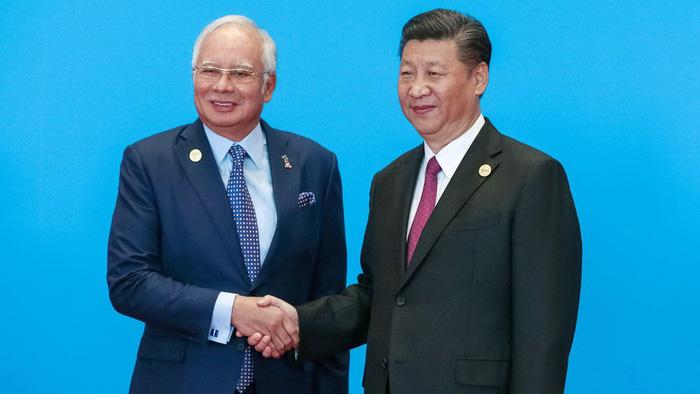 Malaysia xem xét lại các dự án trong 'Vành đai, con đường'