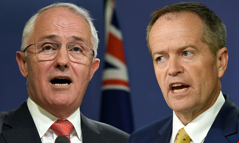 ai trong hai ong malcolm turnbull (trai) va bill shorten se la thu tuong uc tiep theo? (anh: getty images)