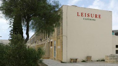 cong ty det mayleisure clothing o quoc dao malta. anh:times of malta